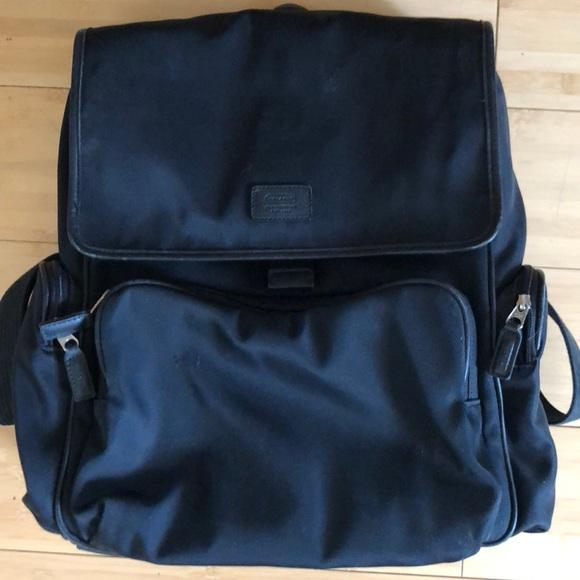 Coach Bags   Black Laptop Backpack   Poshmark 7e97db06cf